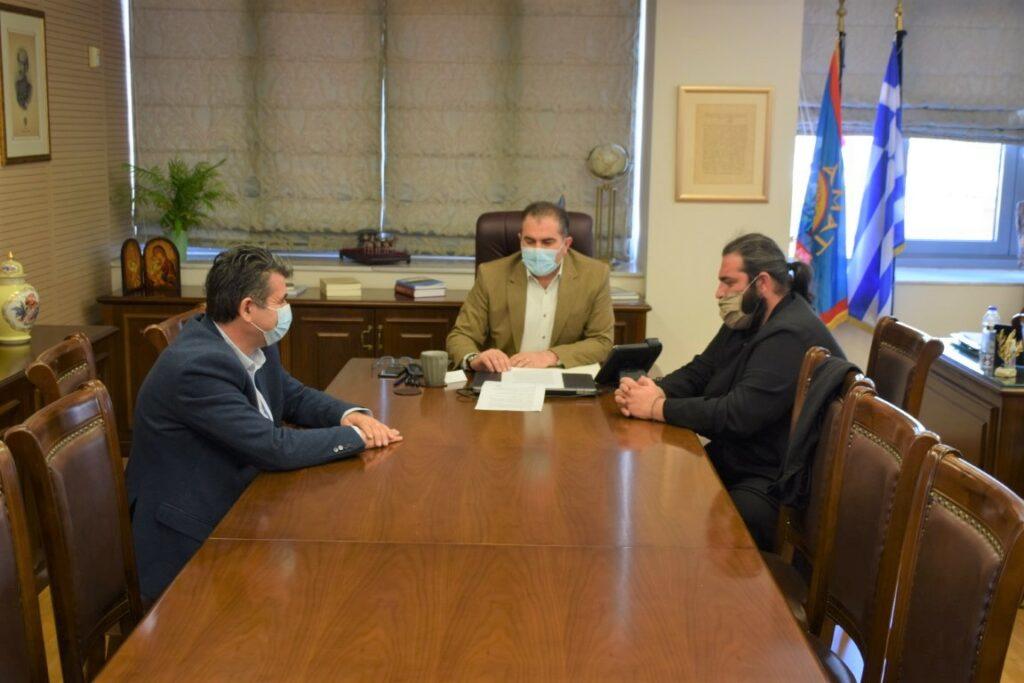 Συνάντηση με Δήμαρχο Καλαμάτας